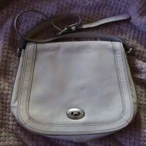 Fossil off white leather purse